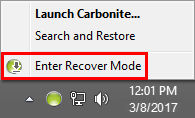 Icon: Recover Mode