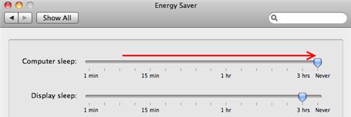 Energy Saver Pane